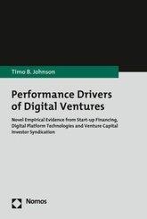 Performance Drivers of Digital Ventures