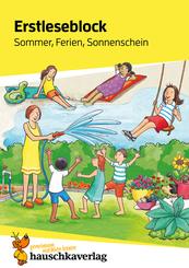 Erstleseblock - Sommer, Ferien, Sonnenschein, A5-Block