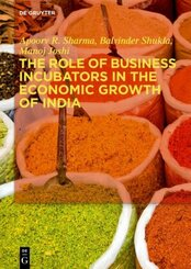 The Role of Business Incubators in the Economic Growth of India