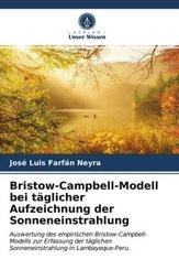 Bristow-Campbell-Modell bei täglicher Aufzeichnung der Sonneneinstrahlung