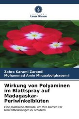 Wirkung von Polyaminen im Blattspray auf Madagaskar-Periwinkelblüten