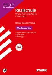 STARK Original-Prüfungen Realschule 2022 - Mathematik - BaWü