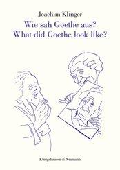 Wie sah Goethe aus? What did Goethe look like?