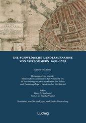 Die schwedische Landesaufnahme von Vorpommern 1692-1709: Die Schwedische Landesaufnahme von Vorpommern 1692-1709. Stralsund: St. Nikolai-Viertel