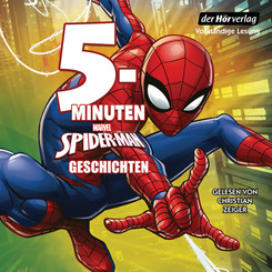 MARVEL Spider-Man 5-Minuten-Geschichten, 1 Audio-CD
