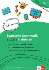 Spanische Grammatik anders trainieren