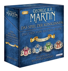 Das Spiel der Königinnen, 14 Audio-CD, 14 MP3