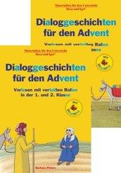 Kombipaket Dialoggeschichten für den Advent / Silbenhilfe