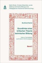 Grundlinien einer kritischen Theorie technischer Bildung Band 2