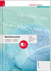 Mathematik I HAK + TRAUNER-DigiBox - Erklärungen, Aufgaben, Lösungen, Formeln
