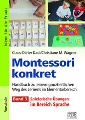 Montessori konkret - Band 3