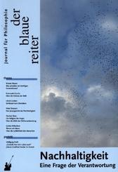 Der Blaue Reiter. Journal für Philosophie: Der Blaue Reiter. Journal für Philosophie / Nachhaltigkeit