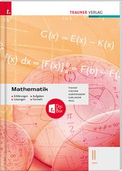 Mathematik II HAK + TRAUNER-DigiBox - Erklärungen, Aufgaben, Lösungen, Formeln