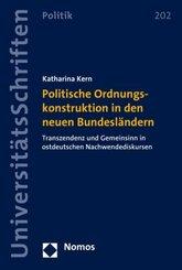 Politische Ordnungskonstruktion in den neuen Bundesländern