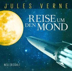Reise um den Mond, 1 Audio-CD