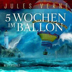 5 Wochen Im Ballon, 1 Audio-CD