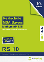 Original-Prüfungen Mathematik II/III Realschule 2022 Bayern