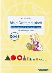 Mein Grammatikheft 3/4 für die 3. und 4. Klasse