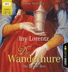 Die Wanderhure. Die große Box, 7 Audio-CD, MP3