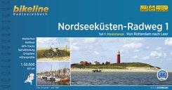 Nordseeküsten-Radweg. 1:75000 / Nordseeküsten-Radweg Teil 1