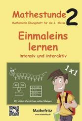 Mathestunde 2 - Einmaleins lernen intensiv und interaktiv