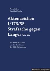 Aktenzeichen I/176/58, Strafsache gegen Langer u.a.