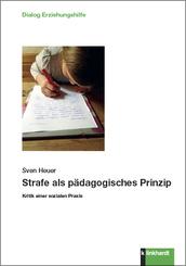 Strafe als pädagogisches Prinzip