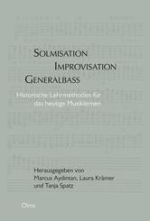 Solmisation, Improvisation, Generalbass