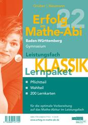 Erfolg im Mathe-Abi 2022 Lernpaket Leistungsfach 'Klassik' Baden-Württemberg Gymnasium, 3 Teile