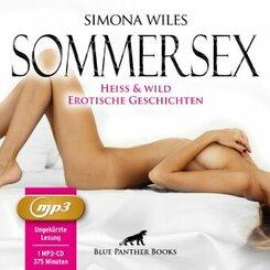SommerSex - heiß & wild   Erotische Geschichten MP3CD, Audio-CD, MP3