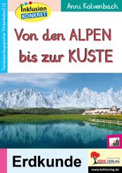 Von den Alpen bis zur Küste