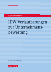 IDW Verlautbarungen zur Unternehmensbewertung