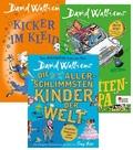 David Walliams - Kinderbuch-Paket (3 Bücher)