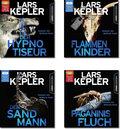 Lars Kepler: Hörbuch Thriller-Paket (4 Hörbücher, 4 MP3-CDs)