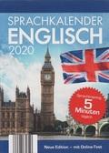 Abreißkalender 2020 - Sprachkalender Englisch