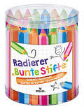 Radierer Paket - Bunte Stifte (24 Stück)