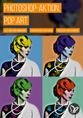 PS-Aktion Pop Art: Look und Animation
