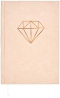 Samt-Notizbuch Diamant