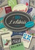 80 Sticker für Bücher - ExLibris Stickerbuch, selbstklebend