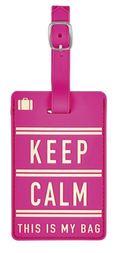 Kofferanhänger - Motiv Fernweh Keep calm