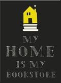 Magnetschild - My Home is my Bookstore (3 Stück)