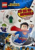 "LEGO® DC Super Heroes(TM) - Kreativ Malbuch mit Comics (Inklusive LEGO® Minifigur ""Lex Luthor"")"