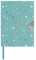 Tagebuch mit Schloß - Flowers