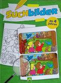 Suchbilder ab 4 Jahren - Malbuch