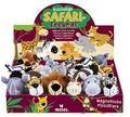 Kuschelige Safarifreunde (16 Plüschtiere / Magnettiere im Paket)