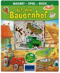 Auf dem Bauenhof - Magnet-Spiel-Buch