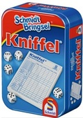 Mitbring-Spiele in Metallbox - Kniffel