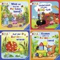 Ravensburger Minis Buchpaket - Formen, Farben, Zahlen, ABC (4 Hefte)