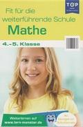 Fit für die weiterführende Schule - Mathe- 4.-5. Klasse - Lernblock