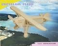 3D Puzzle Holzbausatz - Propellerflugzeug